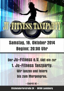 JU-FITNESS-Party_Plakat A1
